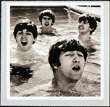 THE BEATLES POSTER PAGE . 1964 MIAMI HOTEL POOL JOHN LENNON . H32