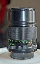 Canon FD 135mm f2.8 Lens - Robust lens made in Japan by canon