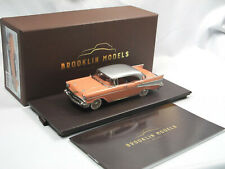 Brooklin Models BRK 221P 1957 Chevrolet Bel Air 4-Door Hardtop Salmon Pink 1/43