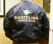 NEW BREITLING WATCH FLIGHT JACKET ALPHA INDUSTRIES XL BLUE TAUPE ACCENT