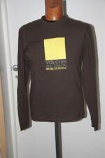Original  Tee Shirt Slim  VOLCOM  Boxer marron T : S neuf