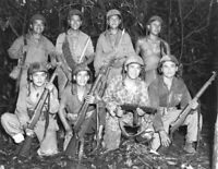 WW2 WWII Photo USMC Navajo Code Talkers US Marines 1943 World War Two / 1705