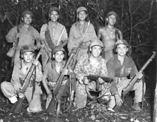 Ww2 Wwii Photo Usmc Navajo Code Talkers Us Marines 1943 World War Two / 1705