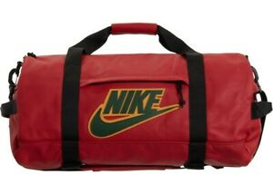 "Authentic Supreme X Nike Red Leather Duffel Bag ""MOTIVATED SELLER MAKE AN OFFER"""