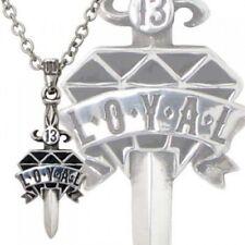 Schmuck Alchemy Gothic ULP 33 Kette mit Anhänger Loyal Diamond