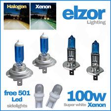 H1 H7 T10 100w Super White Xenon Upgrade Head Light Bulbs Set Dip Main Beam