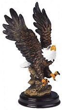 American Bald Eagle Figurine Home Decor Patriotic Office Collectible Beautiful