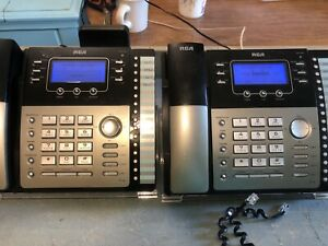RCA ViSYS 4-Line Business Office Phones  25423RE1 no Adapter lot of 2