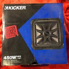 "KICKER 900W 8"" Solo-Baric L7-S Dual 2-Ohm Car Subwoofer | L7S82"