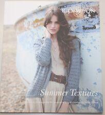 ROWAN Zeitschrift / Strickheft  - - - Summer Textures - - -