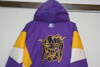 Starter VTG Mankato State Mavericks MN 1/2 Zip Jacket Multi Men Large Athletic