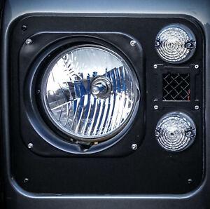Land Rover Defender Clear LED Sidelight Full Kit - Uproar 4x4