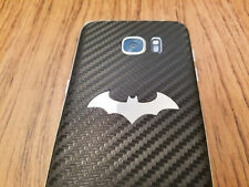Samsung Galaxy S7 Edge Special Injustice Batman Decal Vinyl Skin - Carbon Fiber
