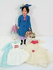 VINTAGE 1960'S HORSMAN MARY POPPINS DOLL WITH CLOTHING ACCESSORIES