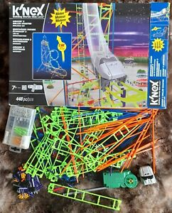 KNEX Roller Coaster Age 7+ With Instruction Book - pieces missing