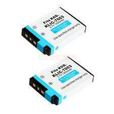 2x KLIC-7003 Rechargeable Battery for Kodak V803 V1003 M380 M420 M381