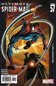 Ultimate Spider-Man Comic 57 Cover A First Print 2004 Brian Michael Bendis .