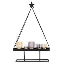 Teelichthalter Set 8 tlg. Weihnachtsbaum + Gläser / Windlicht, Dekoration, Baum
