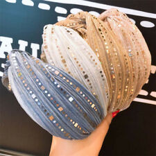 Sequin Knotted Headband Fashion Women Hairband Headwrap Hair Bnads Accessories
