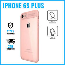 Armor Cover Cas Coque Etui Silicone Hoesje Case Black For iPhone 6S Plus Pink