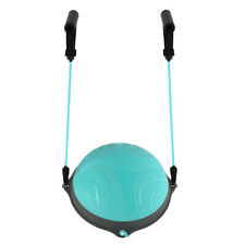 Yoga Ball Balance Hemisphere Fitness for Gym Office Home Blue
