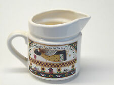 Dicksons Ceramic Creamer Debbie Mumm There is Joy in the Lord Design