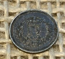 More details for 1838 victorian silver threehalfpence