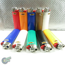 10 Genuine BIC Big Large Maxi Cigarette Cigar Tobacco Lighter J26 Made in France