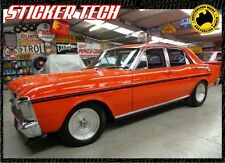 1970 TO 1972 XY XW GS 500 FORD FALCON SIDE STRIPE KIT VINYL STICKER DECAL