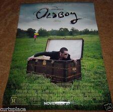"OLDBOY with Josh Brolin Original Movie Poster, 27""x 40"", 2 Sided Image FREE SHIP"