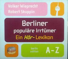 CD VOLKER WAM / ROBERT SKUPPIN - de berlín popular errores