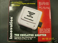 Use any PS2 Dual Shock N64 Controller Pad on PC w/Innovation Smart Joy Emulator