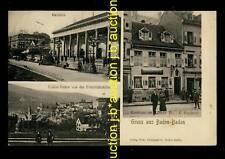 Baden-Baden locanda per Lanterna * AK U 1905