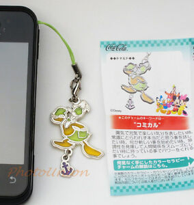 Coca Cola Disney Phone Strap Decoration Charm Keychain Decor Donald Duck A175