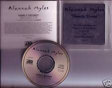 ALANNAH MYLES Family Secret PROMO DJ CD Single 1995