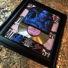 Mariah Carey CAUTION Silver Music Award Disc Record Album