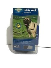 """Easy Walk Harness ~Black/Silver~ X-LARGE - Girth Adjusts from 34""""- 46"""""""