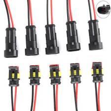 20x 2-Polig Set KFZ Kabelverbinder Stecker Wasserdicht Steckverbindung Satz