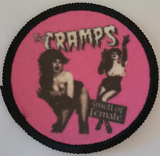 THE CRAMPS Patch parche smell of female horror postpunk misfits poison ivy psych