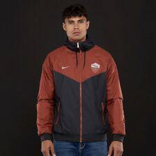 Nike AS Roma 2018/19 Windrunner Men's Jacket AJ3298-010 Black/Mars Stone M