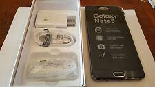 New Samsung Galaxy NOTE 5 SMN920V Nr Mint 64GB Black Unlocked Verizon gsm