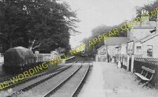 Lowthorpe Railway Station Photo. Nafferton - Burton Agnes. Driffield Line (2)
