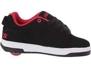 Heelys voyager black/red size 10