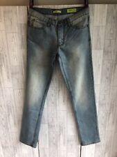 Genuine Versace Mens Blue Jeans Slim Fit W32 L34 New