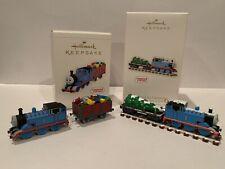 Set of 2 Hallmark Keepsake Thomas & Friends Ornaments