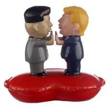 Wackelfigur Trump Kim Jong Un Love Solar Figur Scherzartikel Wichtelgeschenk