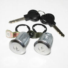 Door Lock Set Barrel & Keys Front Left Right for Citroen Berlingo Xsara