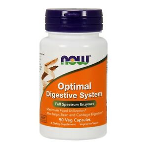 NOW Foods Optimal Digestive System, 90 Veg Capsules