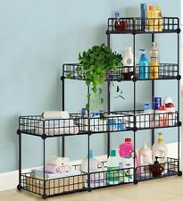 Grid Wire Modular Shelving and Storage Cubes, Easy Assembly USA SELLER