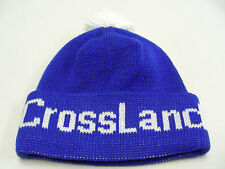 CROSSLAND SAVINGS - VINTAGE - ONE SIZE - STOCKING CAP BEANIE HAT!